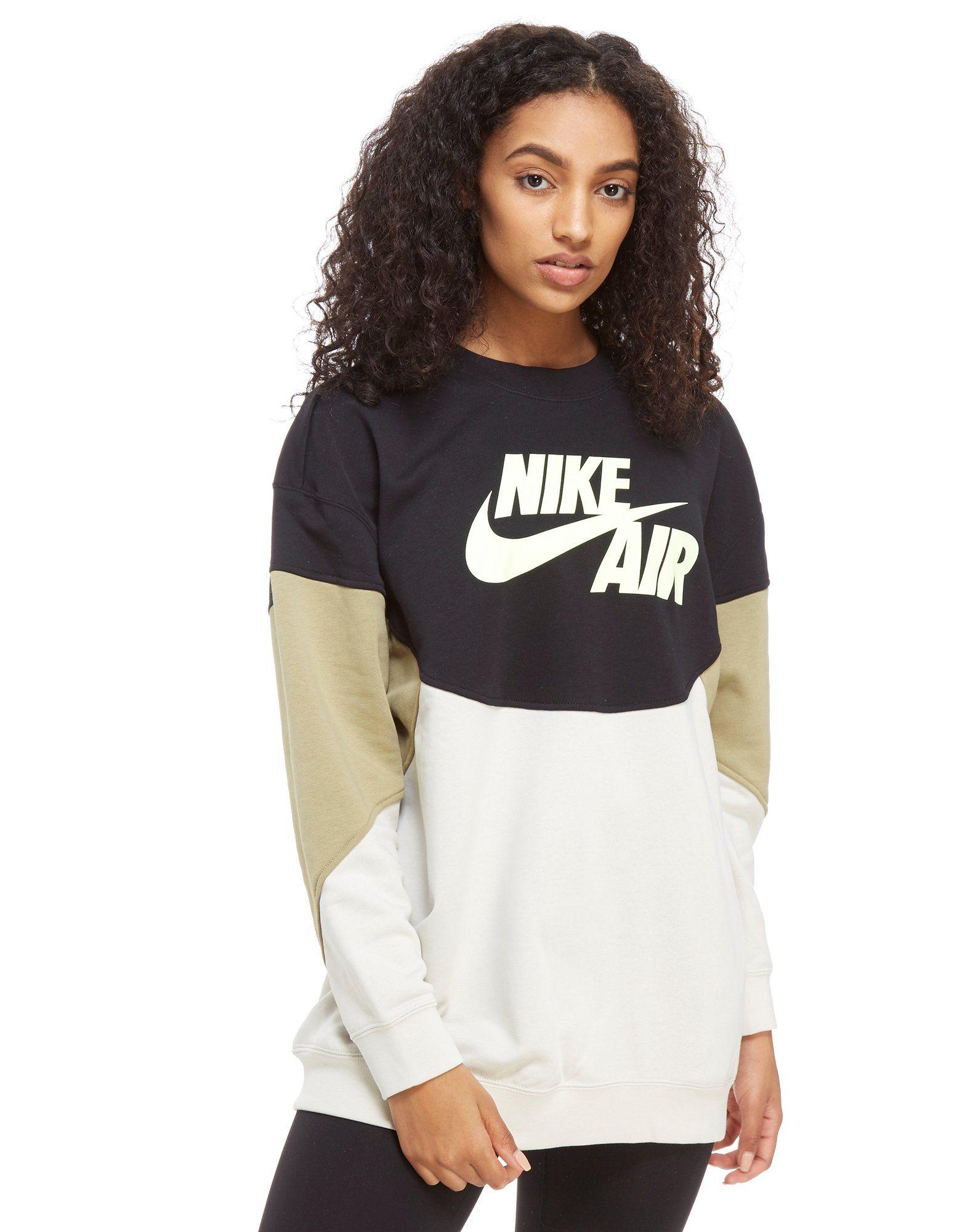 Nike Air Colourblock Crew Sweatshirt