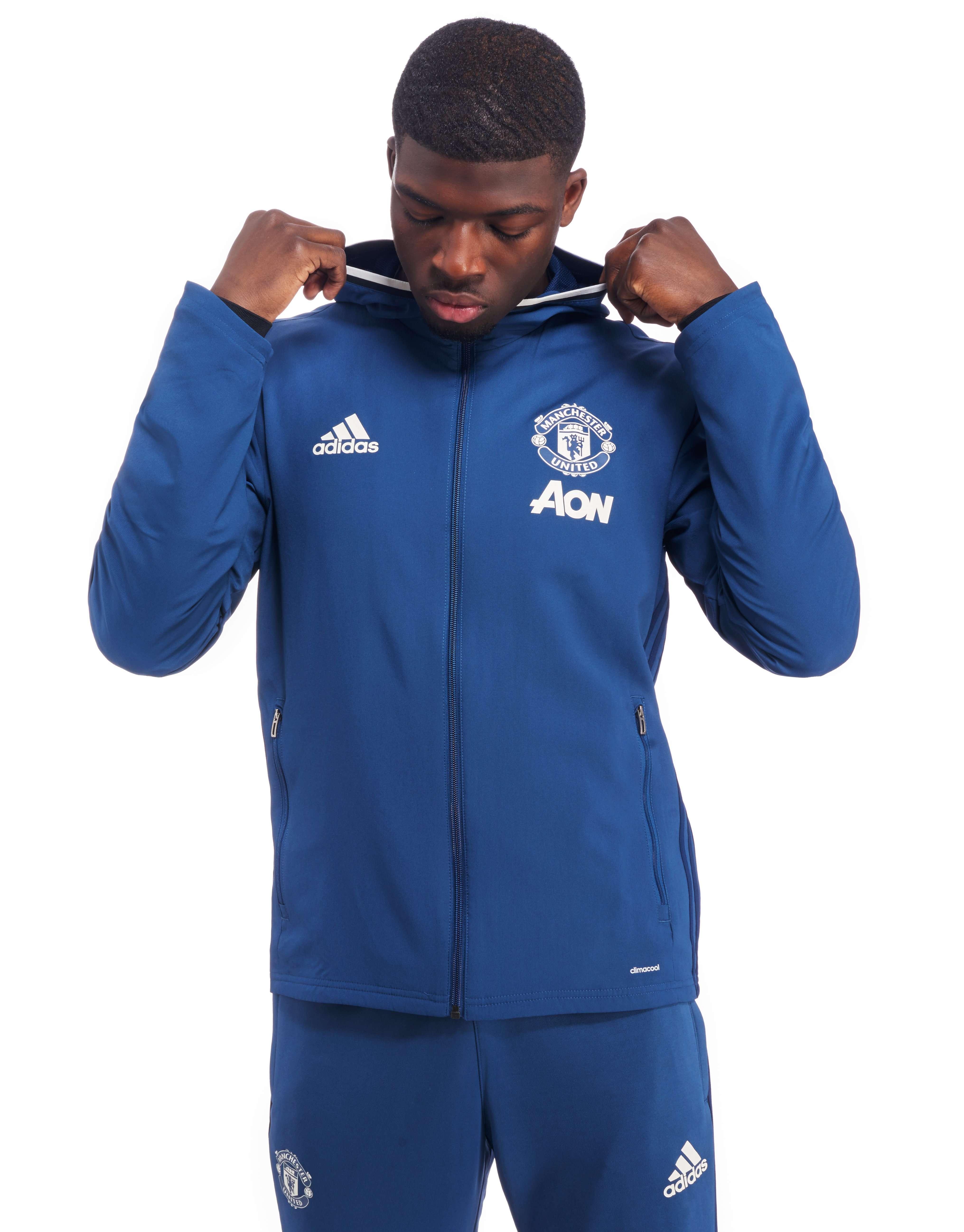 adidas manchester united fc presentation jacket