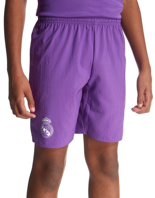 adidas Real Madrid 2016 17 Away Shorts Junior