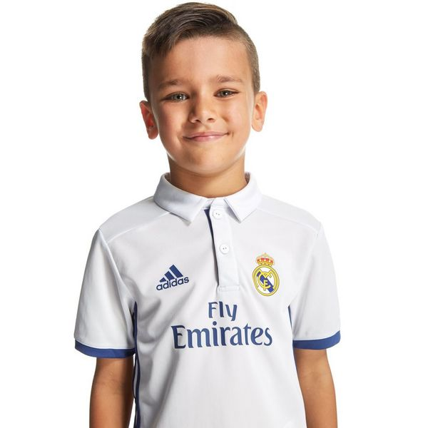 ... adidas Real Madrid 2016/17 Home Kit Children ...