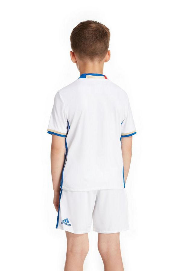 adidas Olympique Lyon 2016/17 Home Kit Children