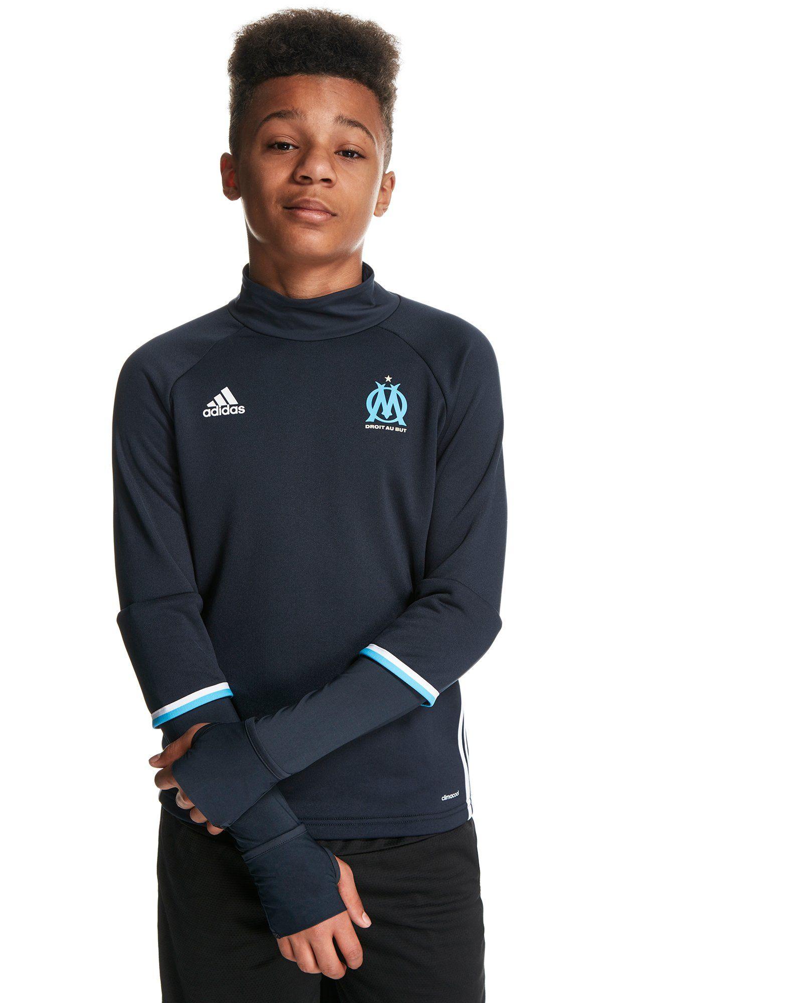adidas Olympique Marseille 2016/17 Top Jnr