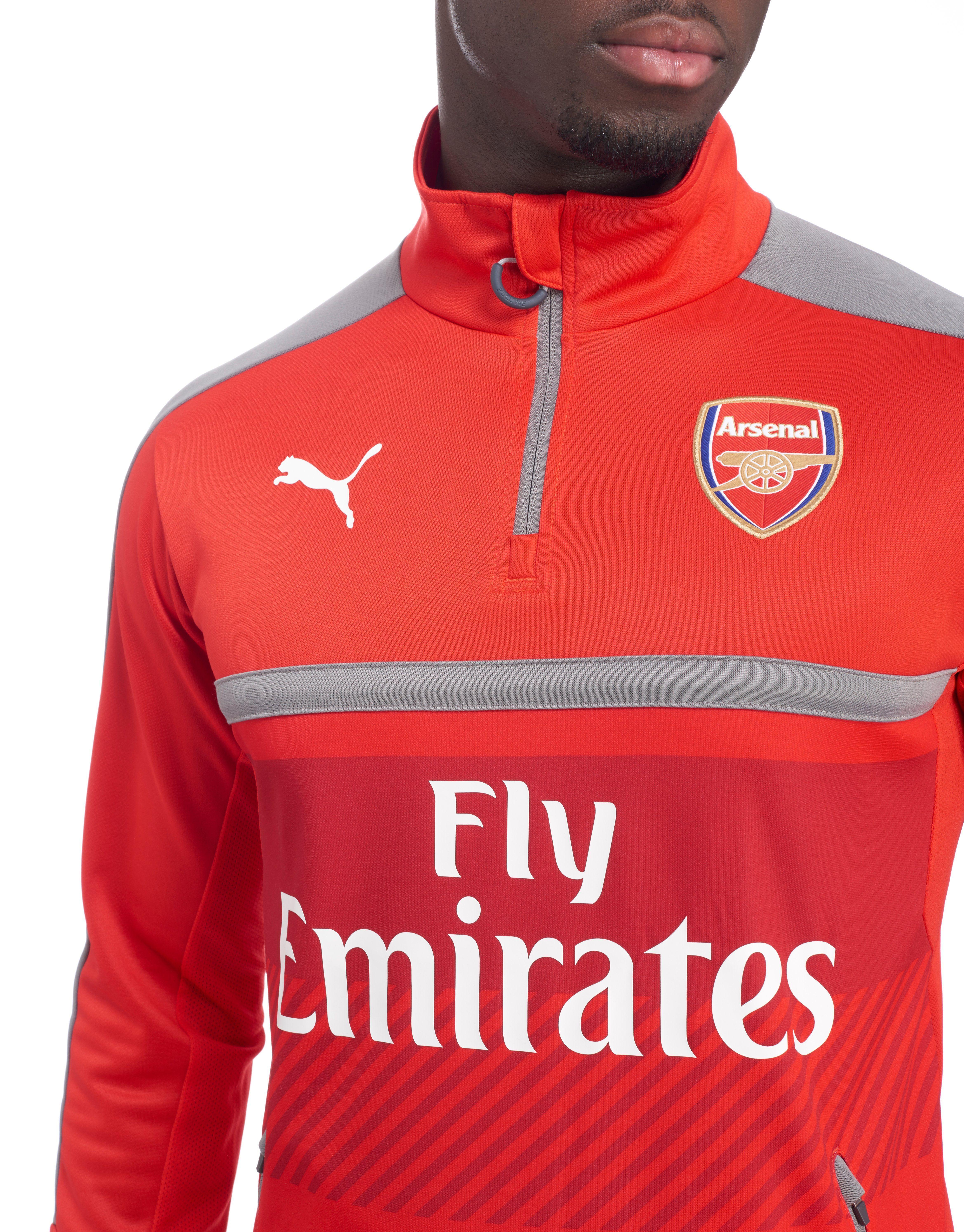 PUMA Arsenal FC 2016/17 Quarter Zip Training Top