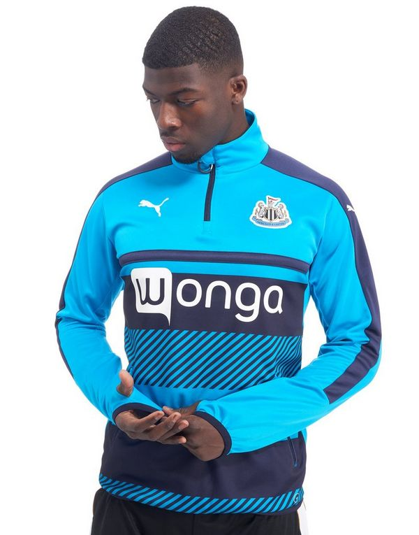 Puma Newcastle United Fc Training Jersey Blue - Mens Top