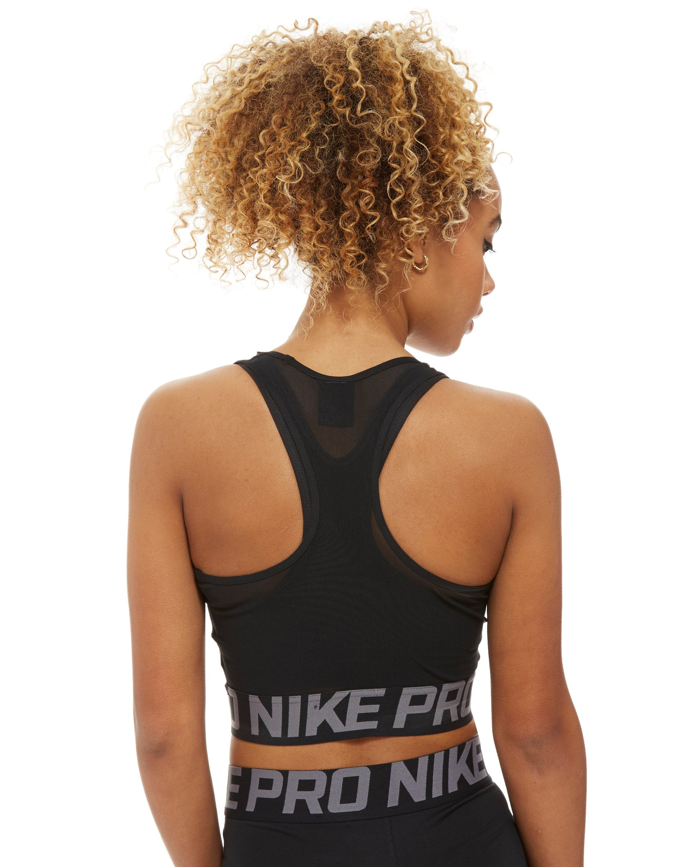 Nike Pro Training Cross Over Cropped Tank