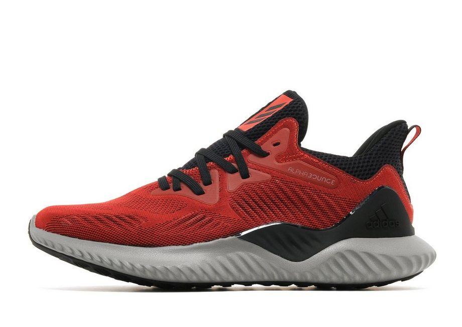 adidas Alpha Bounce Beyond - Men's Running Shoes - Red 016508