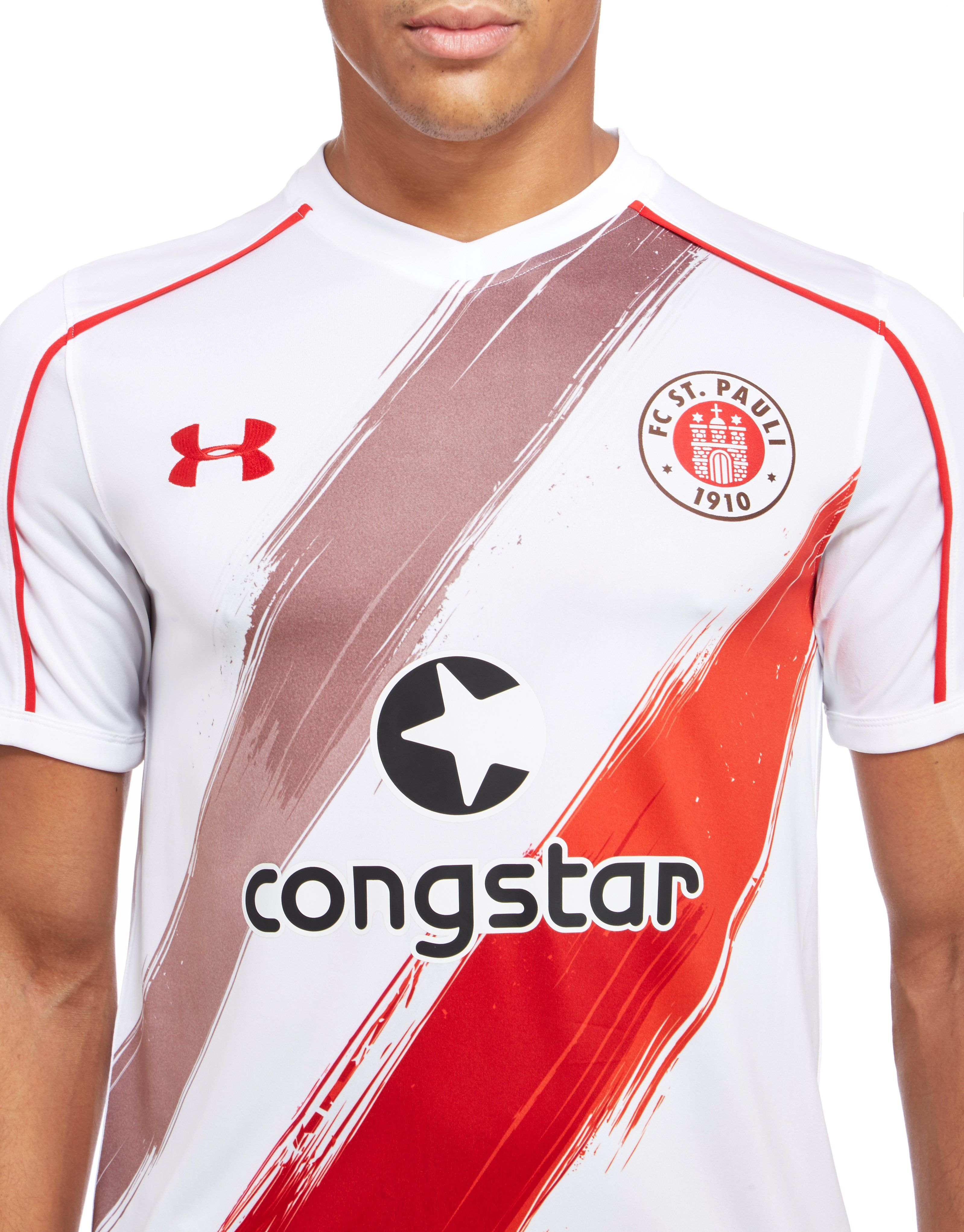 Under Armour FC St Pauli 2016/17 Away Shirt