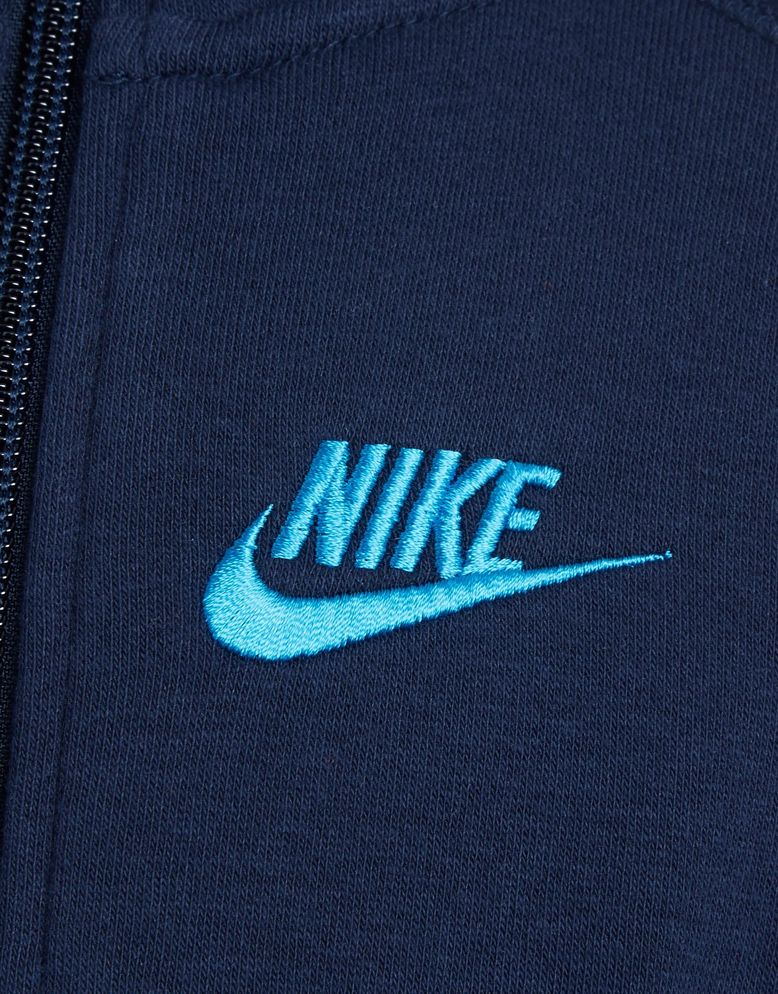 Nike Corp Logo Zip Hoody Childrens