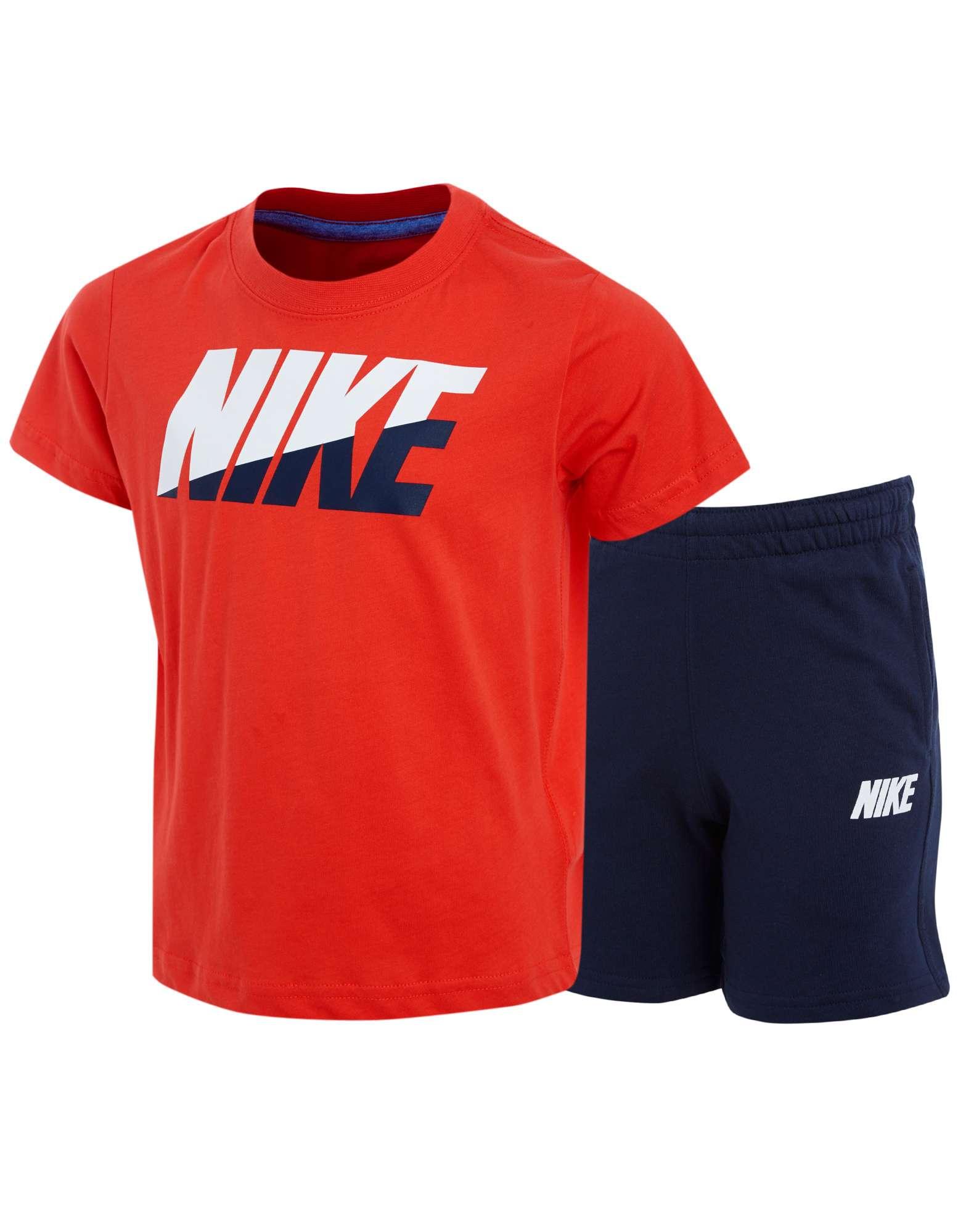 Nike Block T-Shirt/Shorts Set Children's