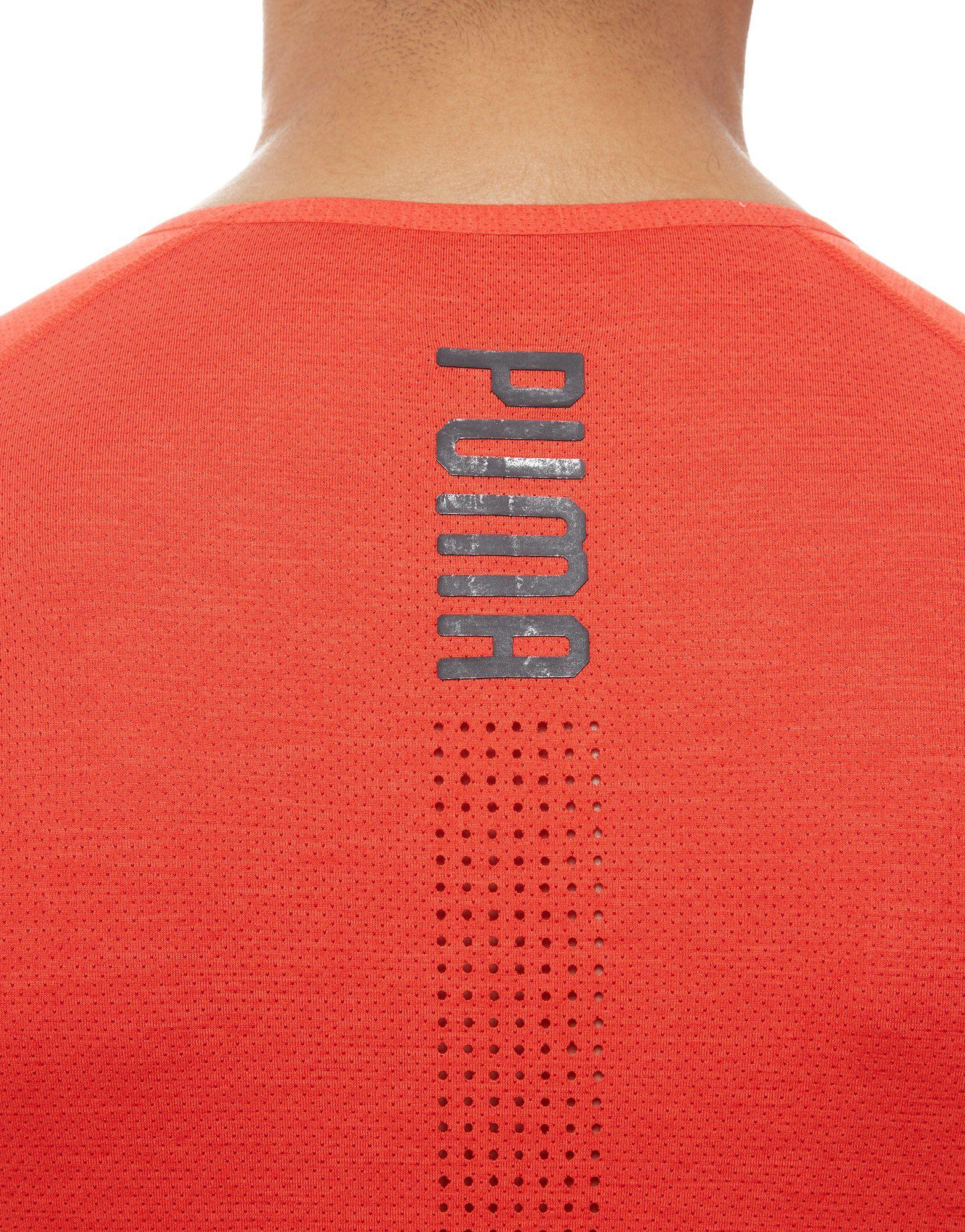 PUMA Energy Laser T-Shirt Rot