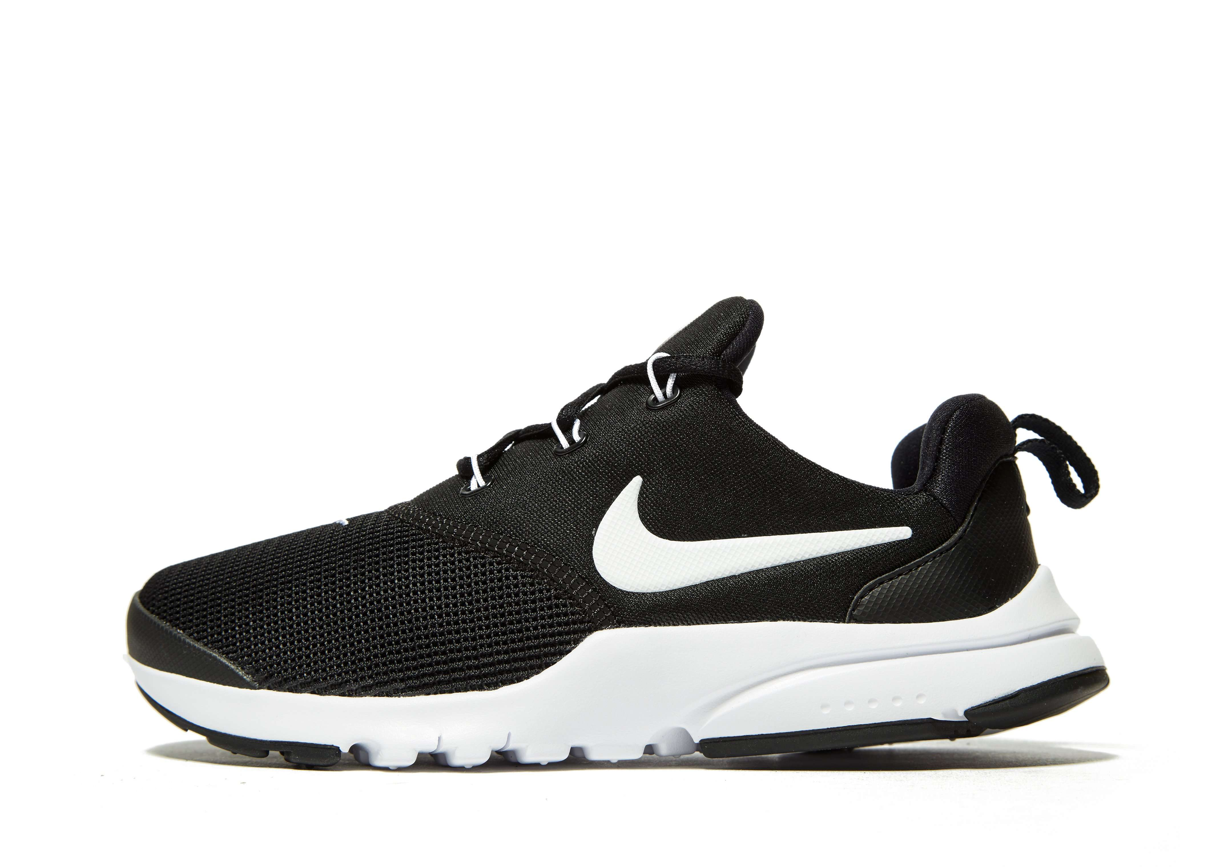 autumn shoes shades of various colors NIKE PRESTO FLY BLK/WHT | JD Sports