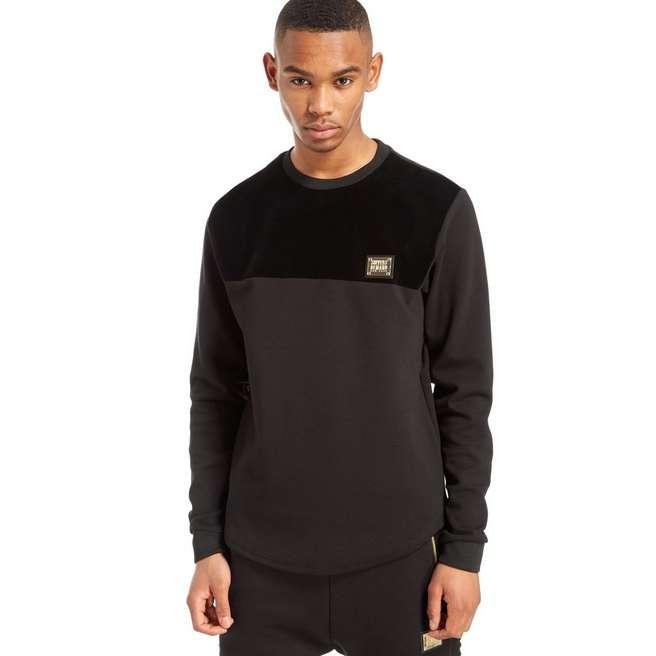 Supply & Demand Flock Crew Sweatshirt
