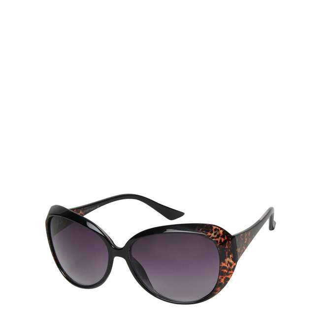 Brookhaven Nancy Butterfly Speckled Leopard Sunglasses