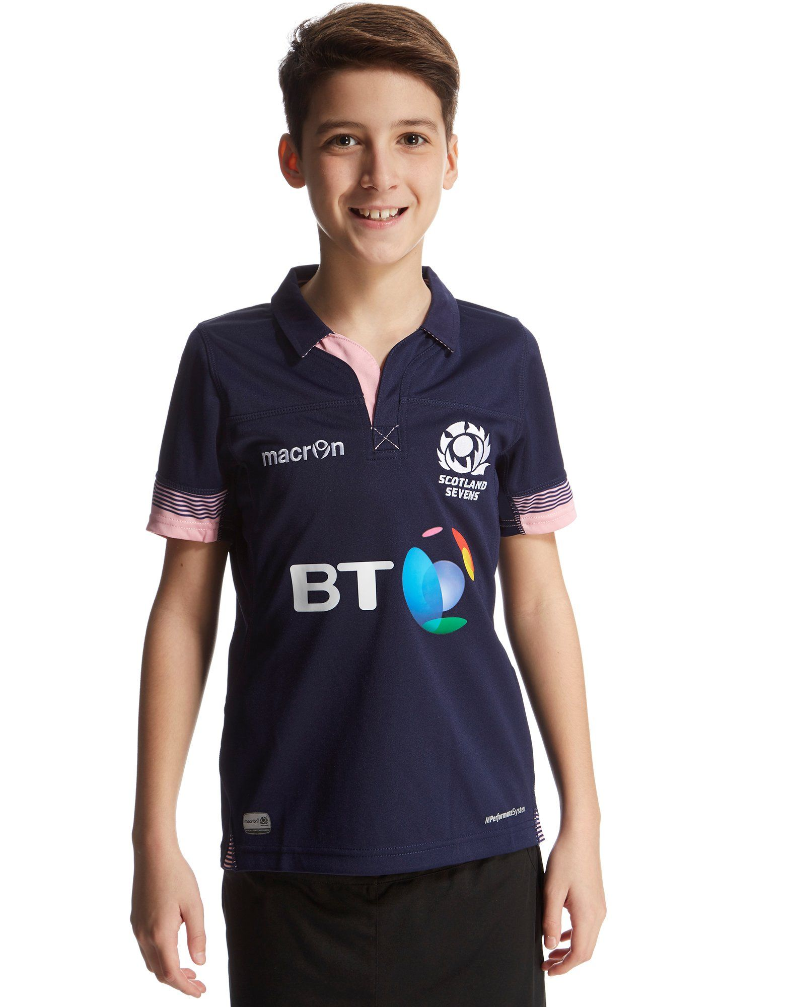 Macron Scotland RFU Home 2015/16 Sevens Shirt Junior
