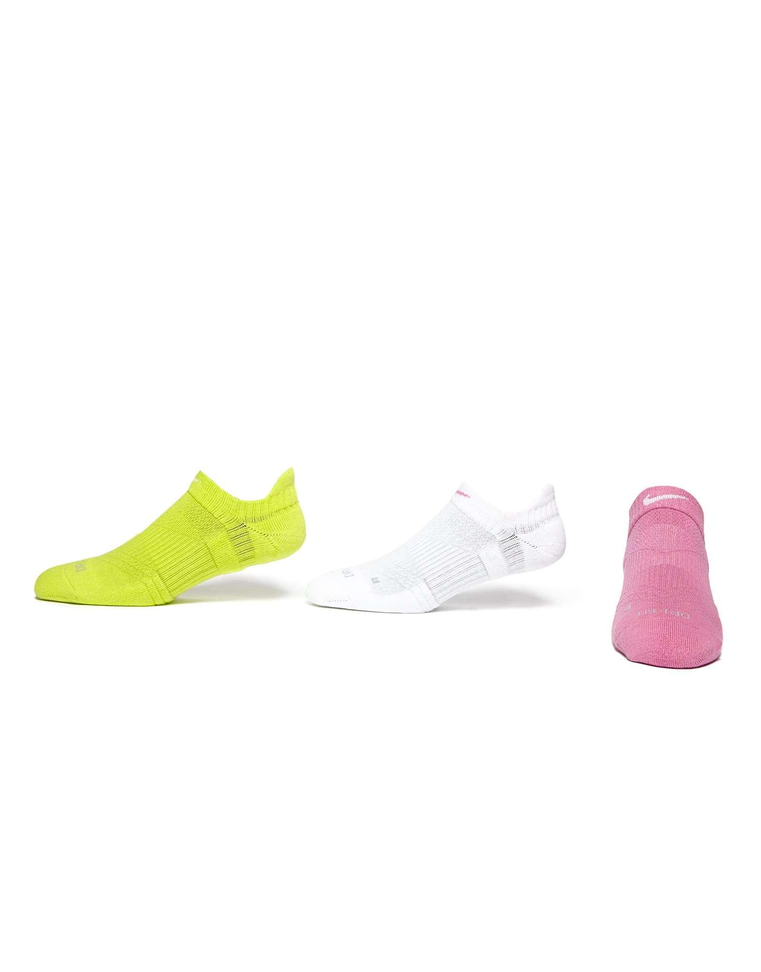 Nike 3 Pack Low Ped Socks
