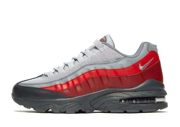 air max 95 junior black and red