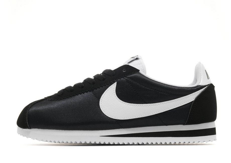 Nike Cortez Nylon - Women's Trainers - Black 019407