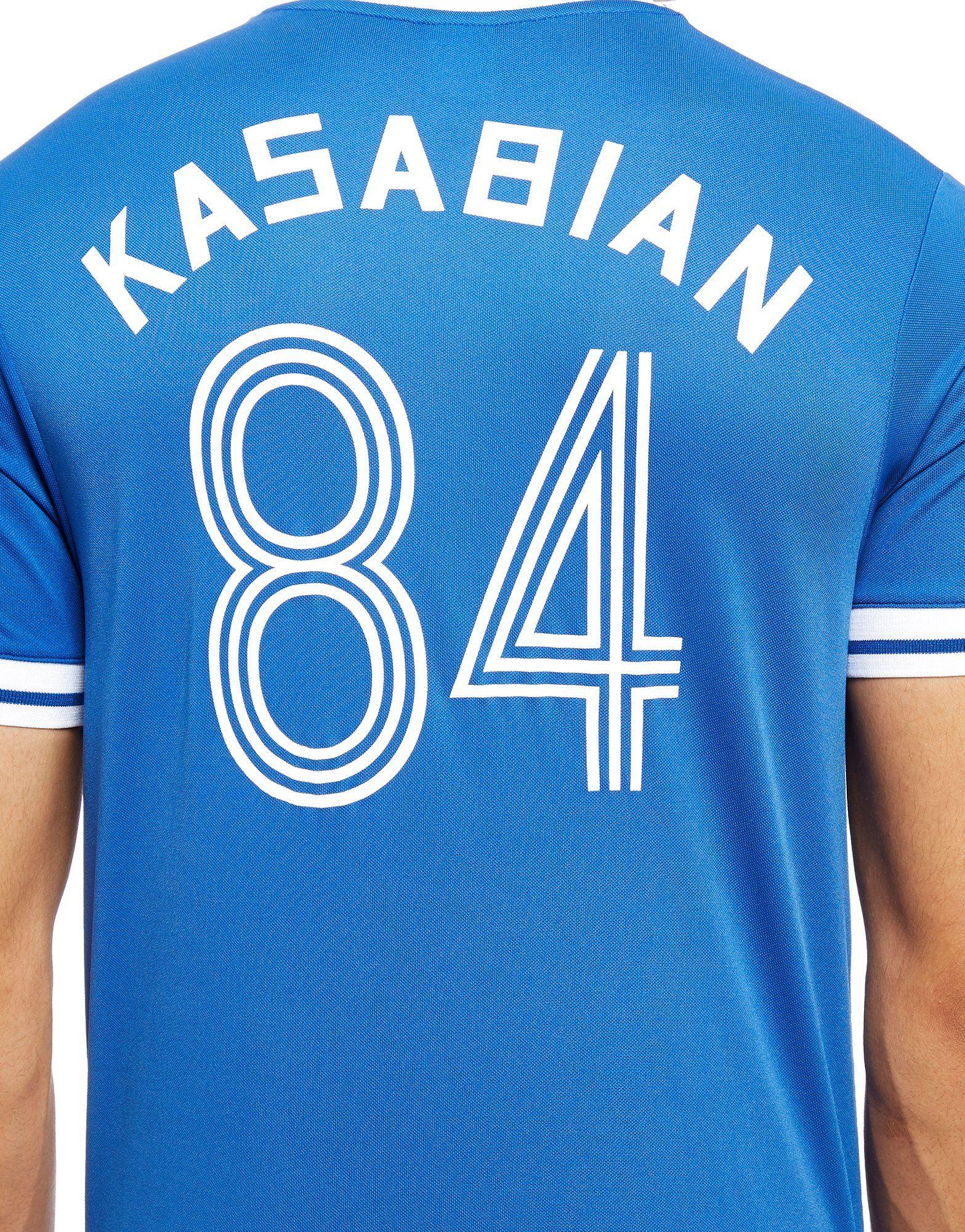 Official Team Official Leicester City Kasabian T-Shirt Blau