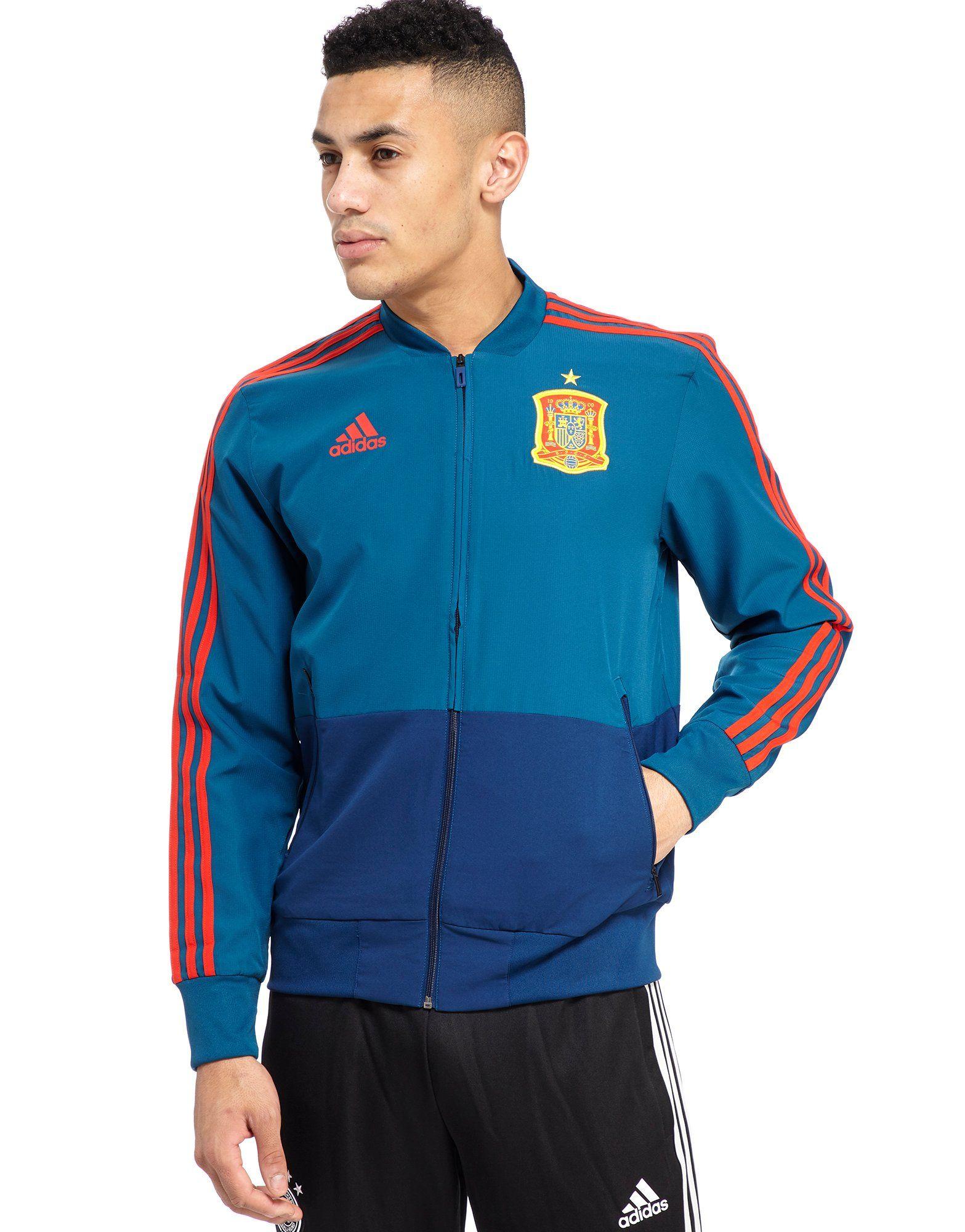 adidas spagna 2018 presentazione giacca jd sports