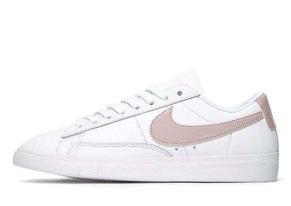 Nike Blazer Low Midnight Grey White Stars Womens Shoes
