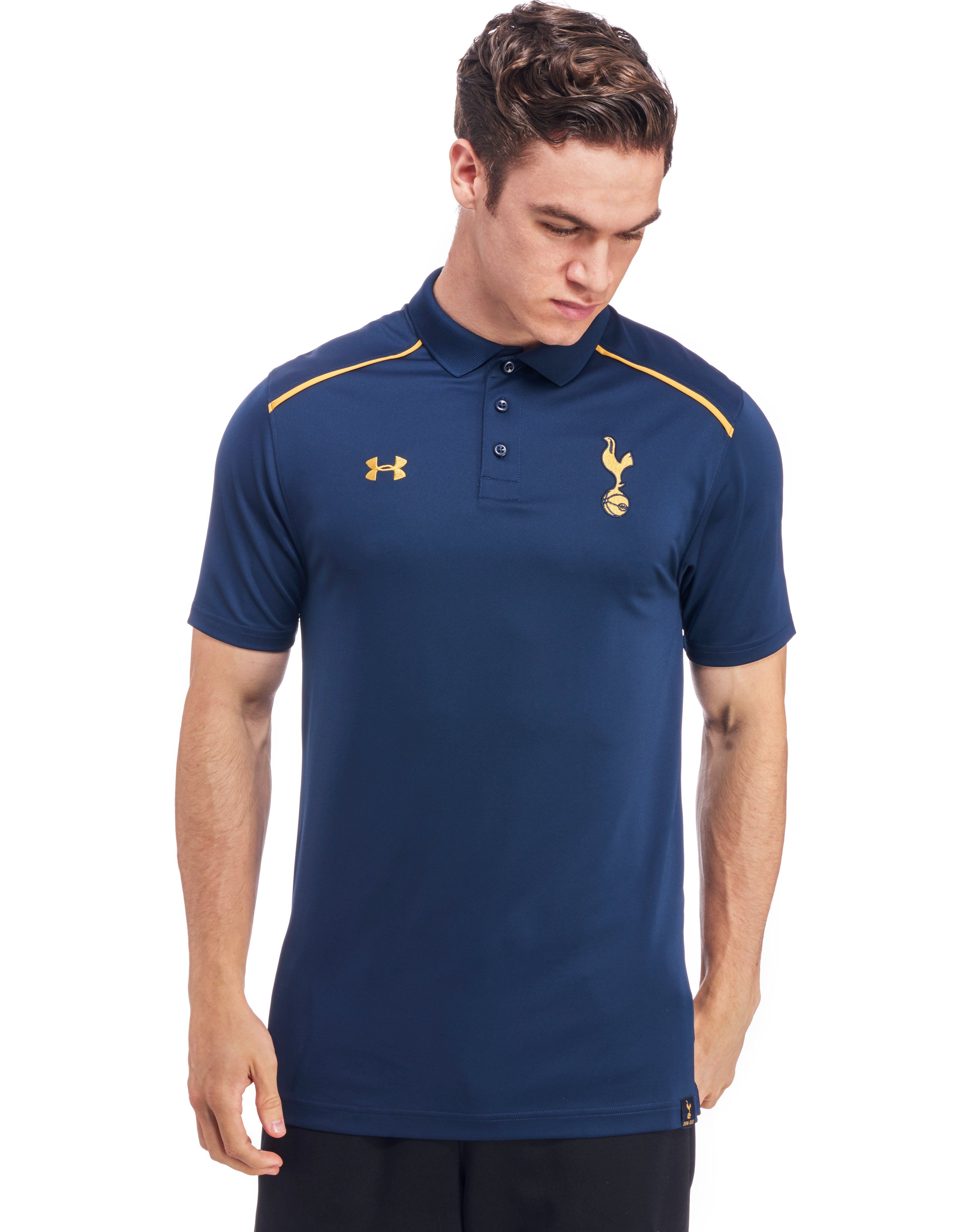 Under armour tottenham hotspur 2016 17 team polo shirt for Tottenham under armour polo shirt