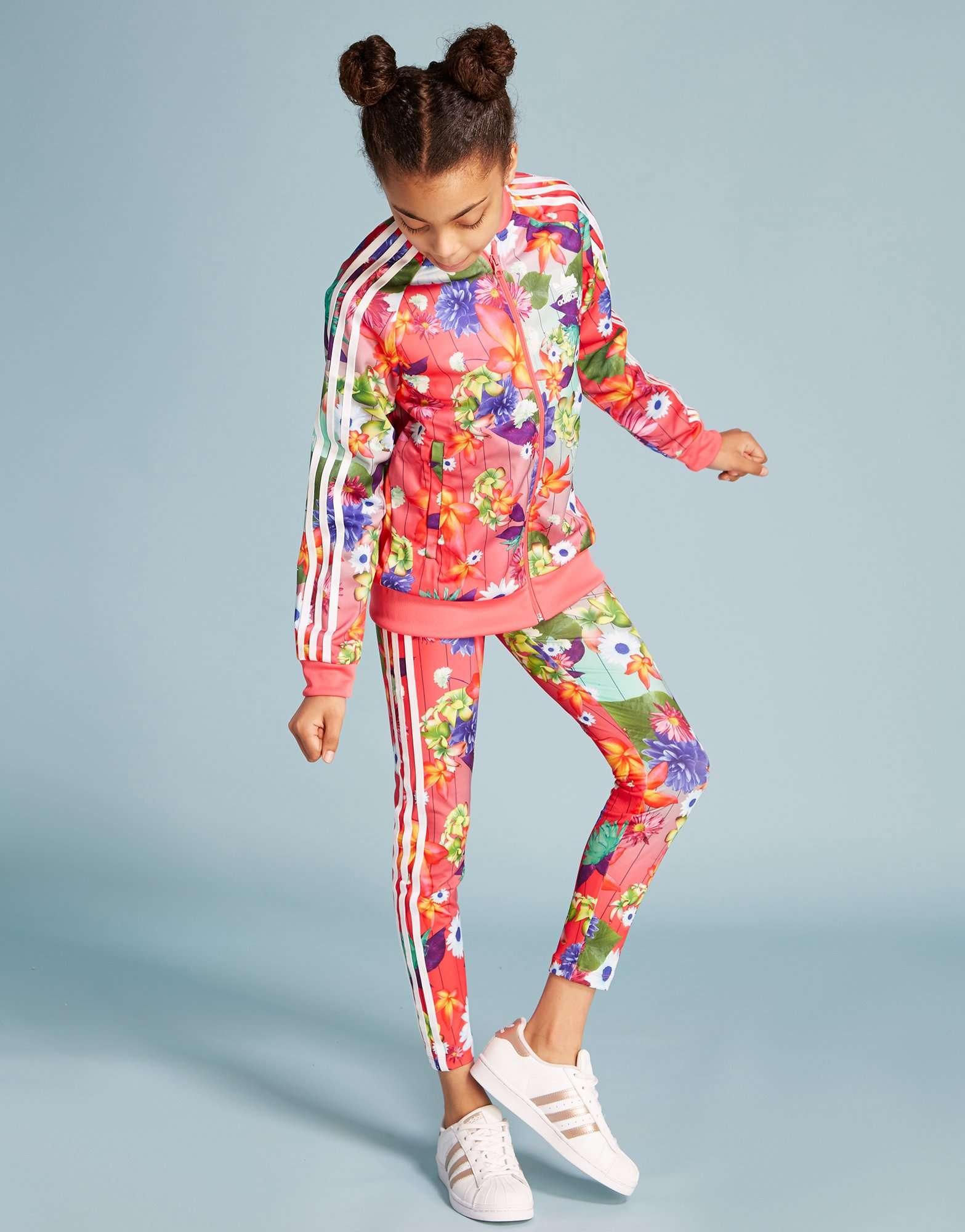 Adidas Originals Girls' floral leggings Junior JD Sports
