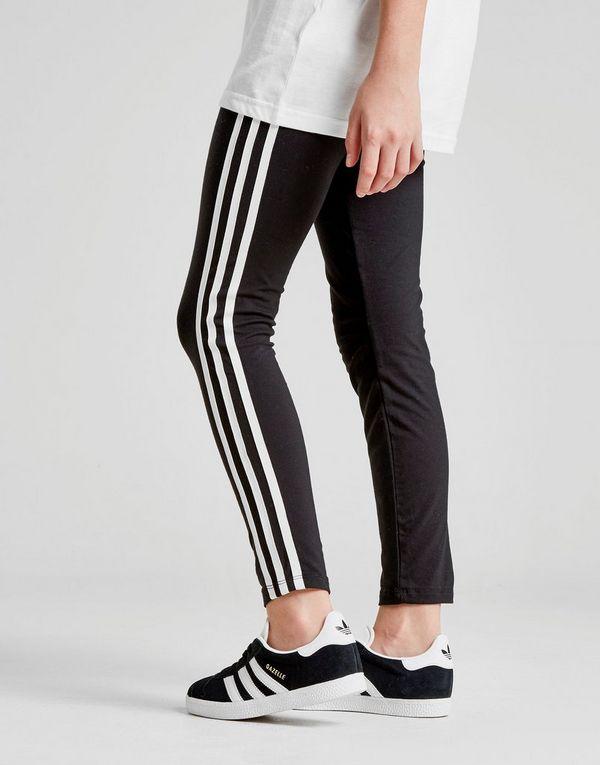 b18cae93c adidas Originals Girls' Trefoil 3-Stripes Leggings Junior | JD ...