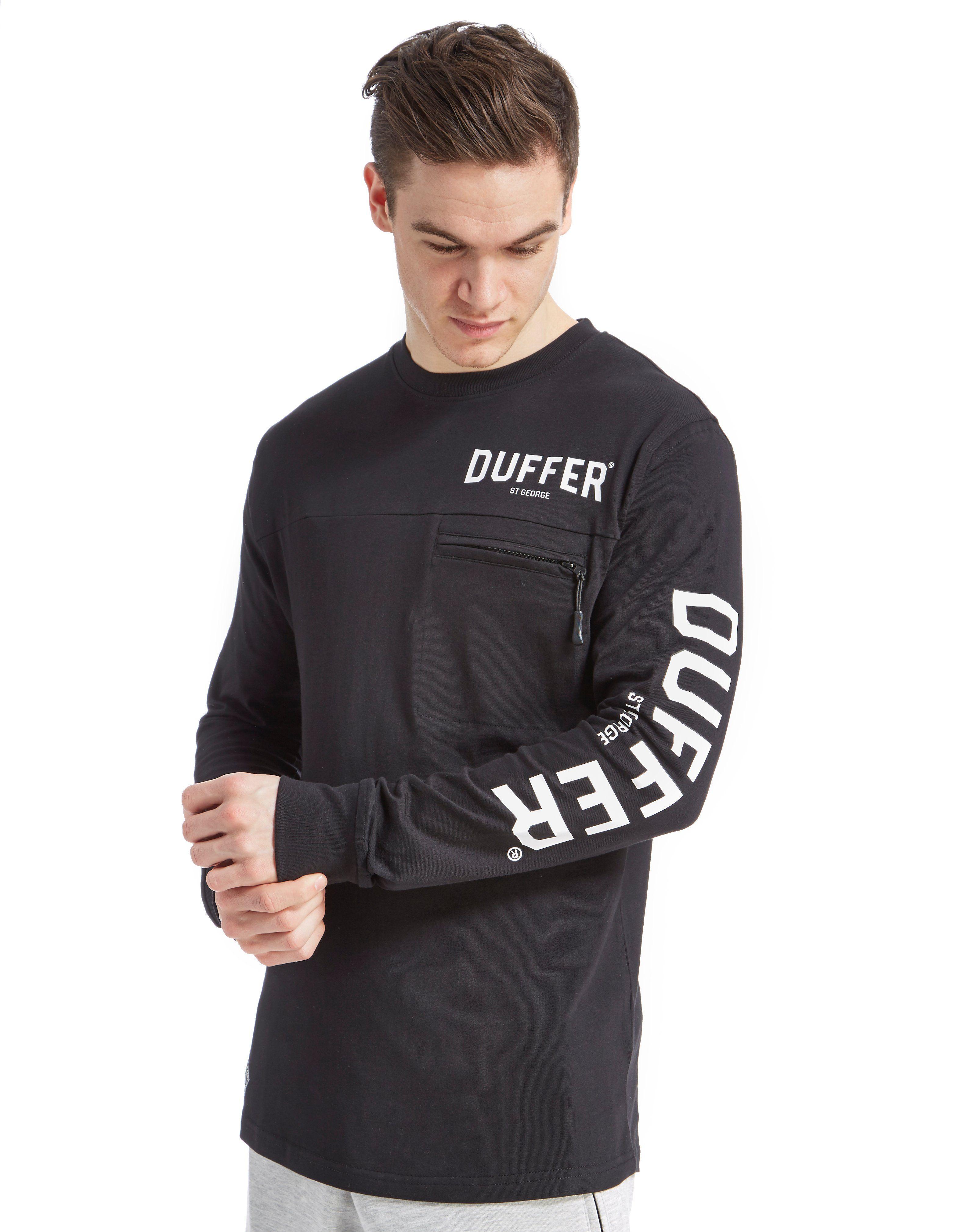 Duffer of St George Black Label Sigma Long Sleeve T-Shirt