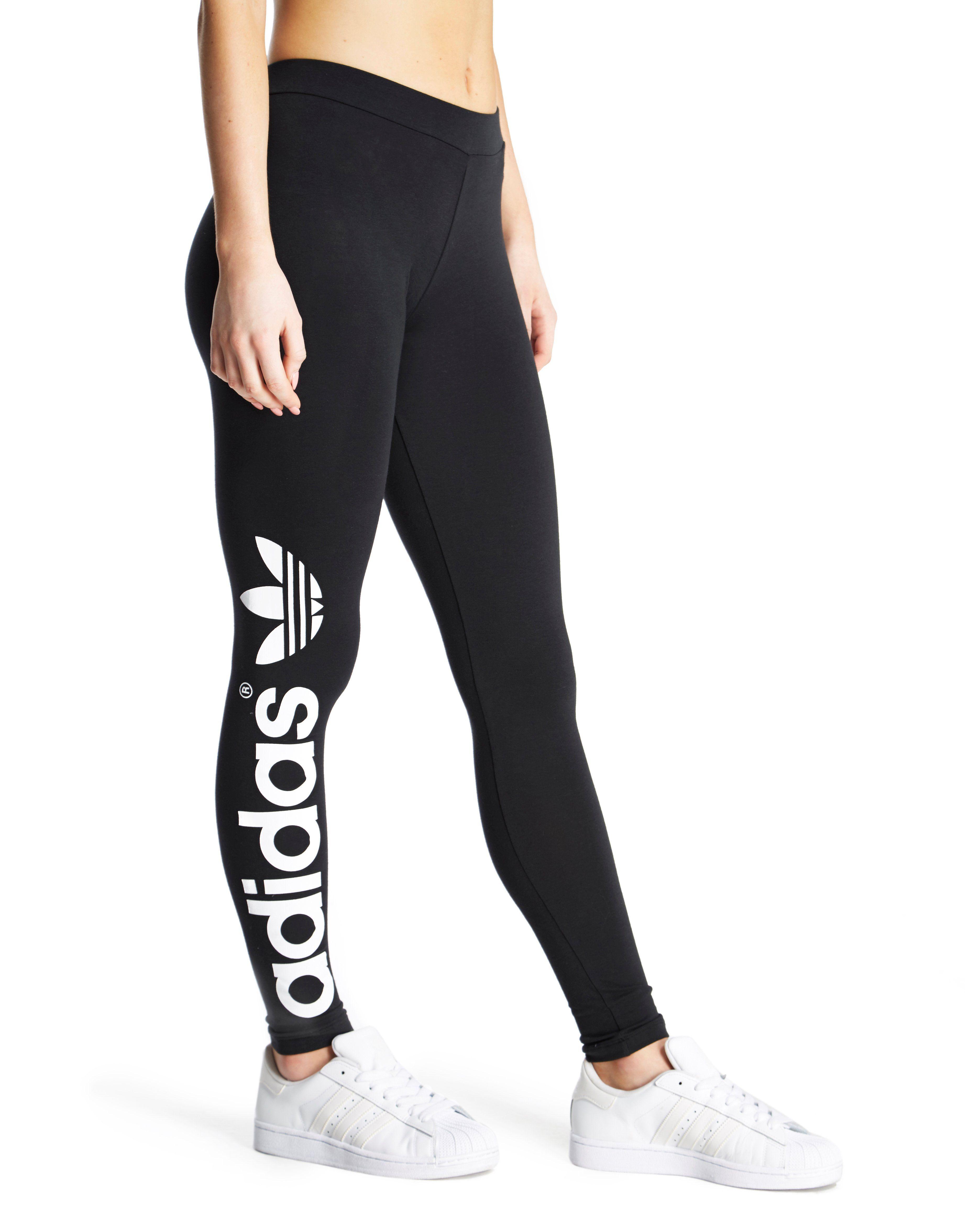 adidas originals trefoil leggings jd sports. Black Bedroom Furniture Sets. Home Design Ideas