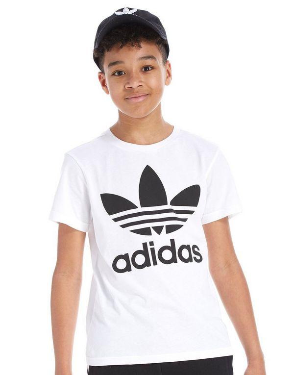 adidas trefoil t shirt junior