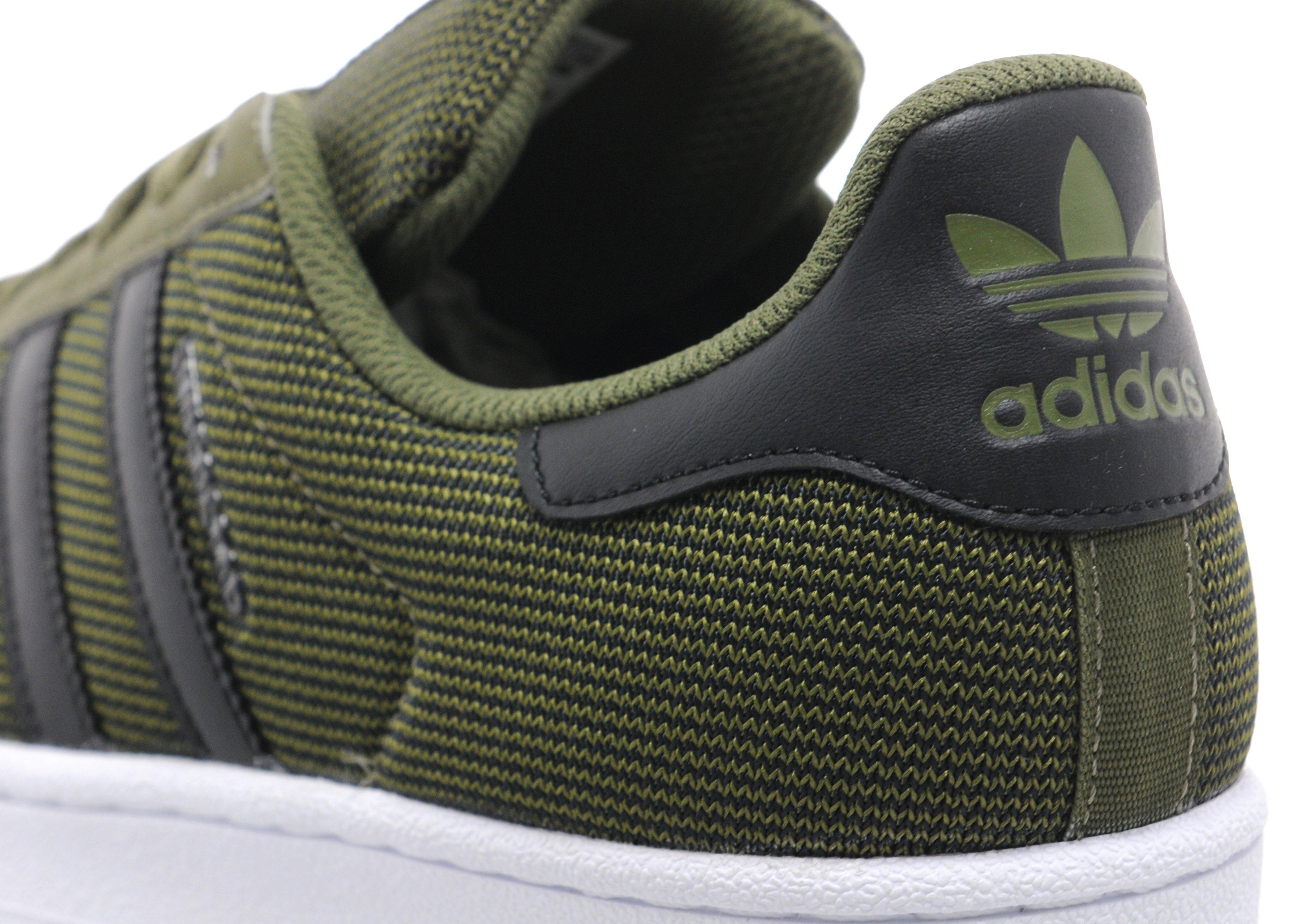 adidas superstar khaki green