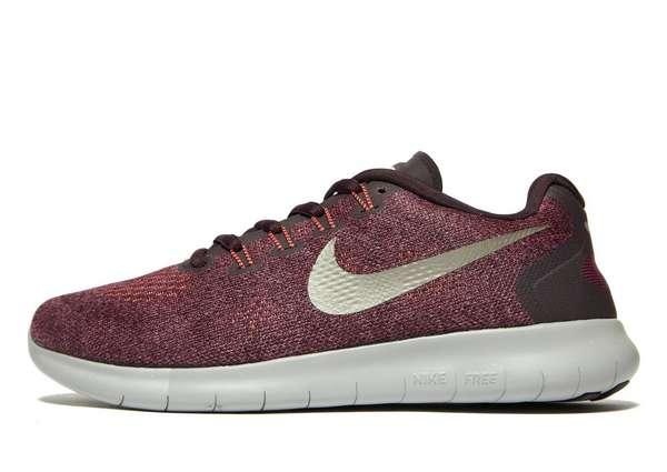 Nike Free RN - Women's Running Shoes - Red 021413