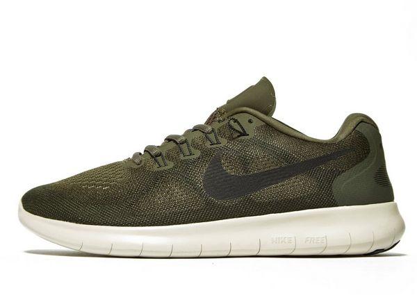 Nike Free RN - Women's Running Shoes - Green 021474