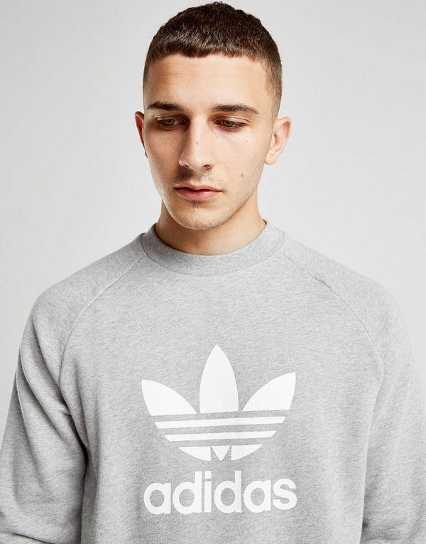 Originals Sweat Crew Homme Adidas Trefoil Xwqdwa
