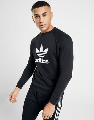 adidas Originals Sweat Trefoil Crew Homme   JD Sports