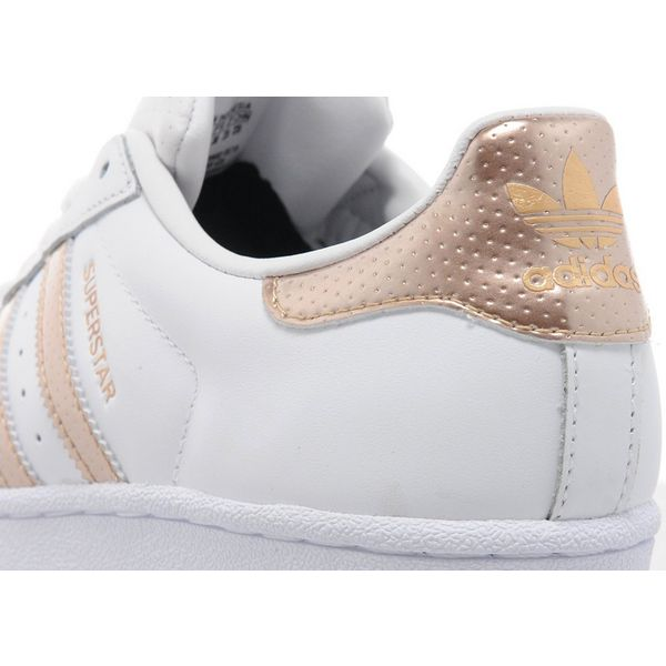adidas superstar rose gold size 4