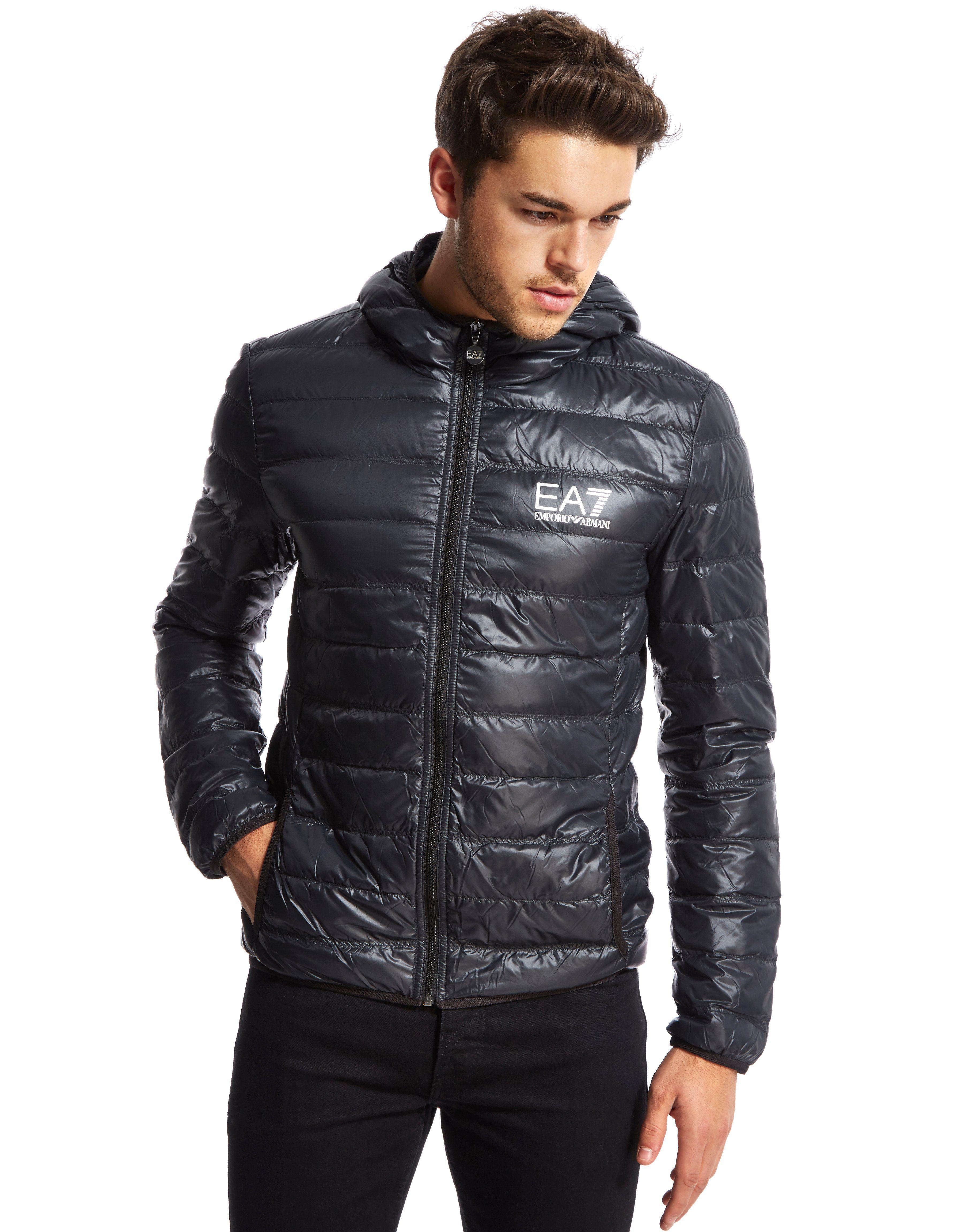 Emporio Armani Ea7 Bubble Hooded Jacket Jd Sports Sverige