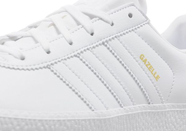 black and white adidas gazelle junior