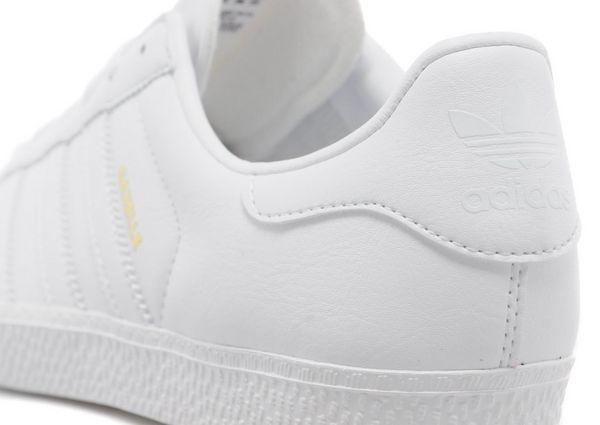 adidas gazelle junior white grey