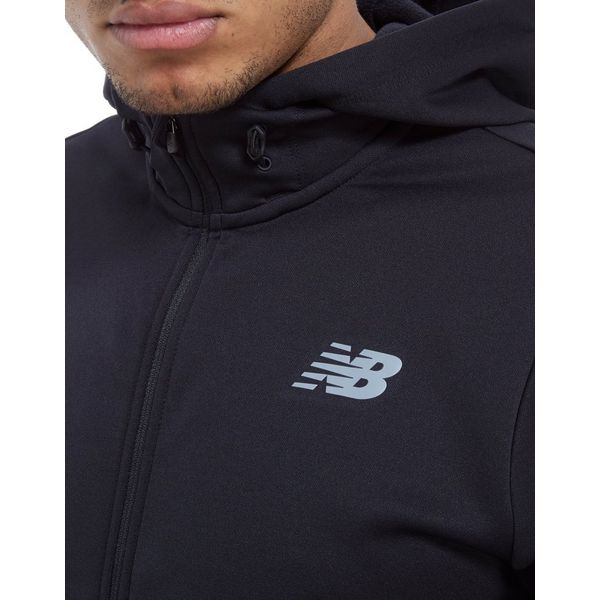 New Balance Core Full Zip Poly Hoodie