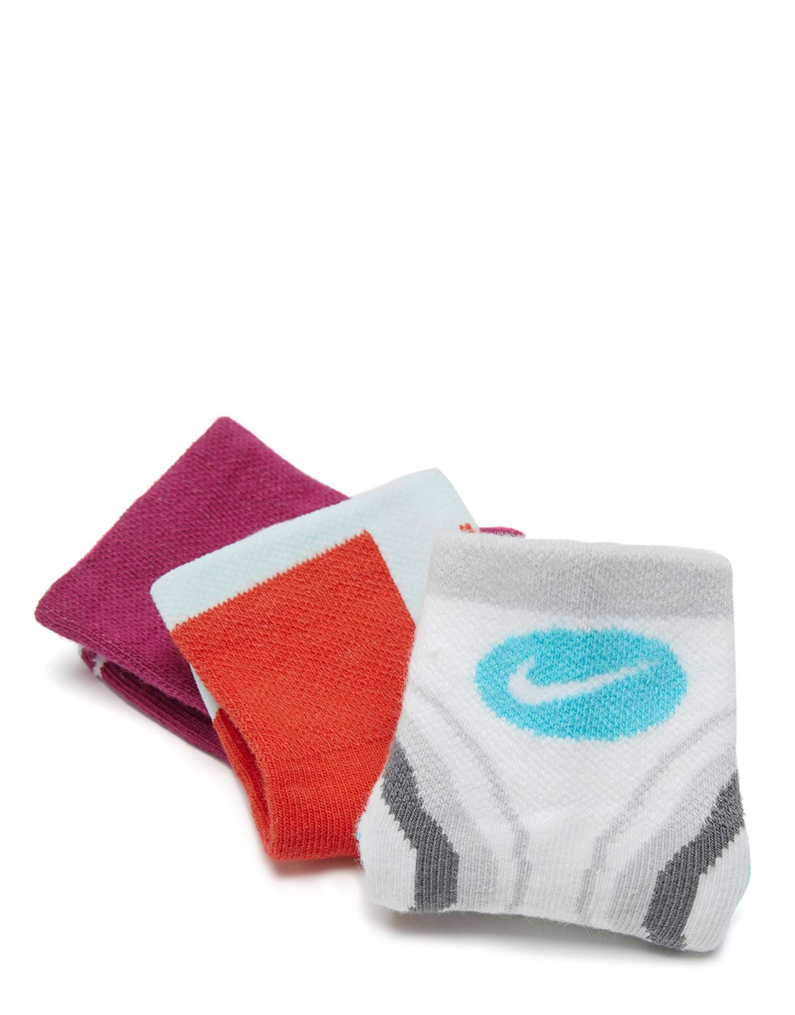 Nike 3 Pack Junior Crew Socks