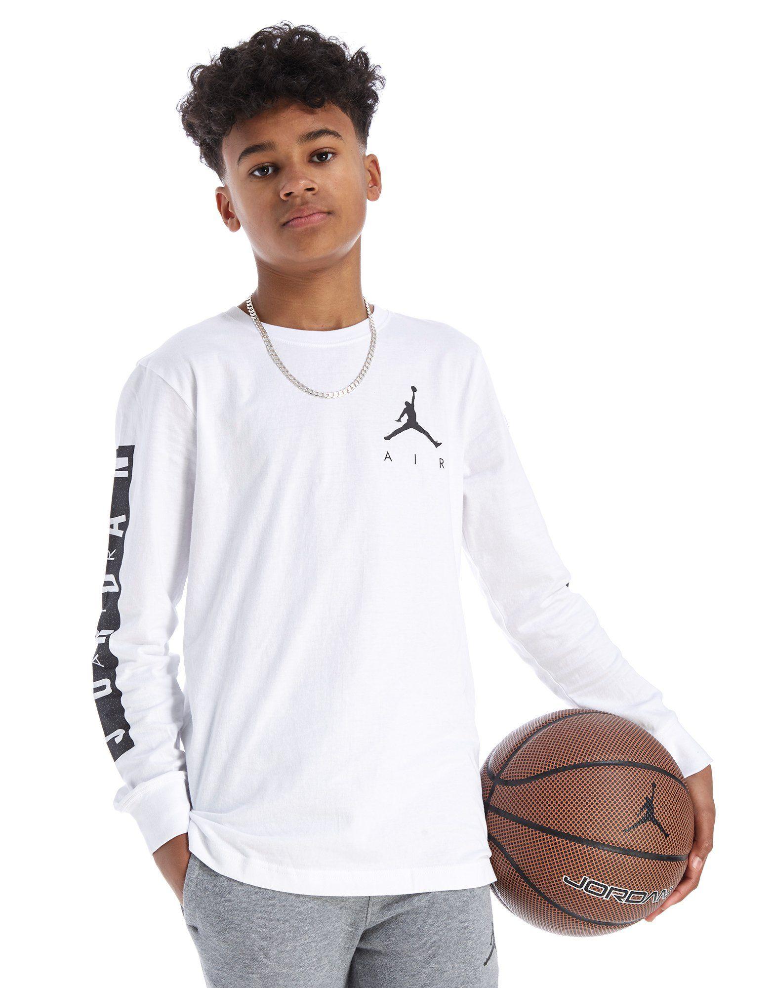 972db60ca Shoptagr | Jordan Air Jumpman Long Sleeve T Shirt Junior by Jordan
