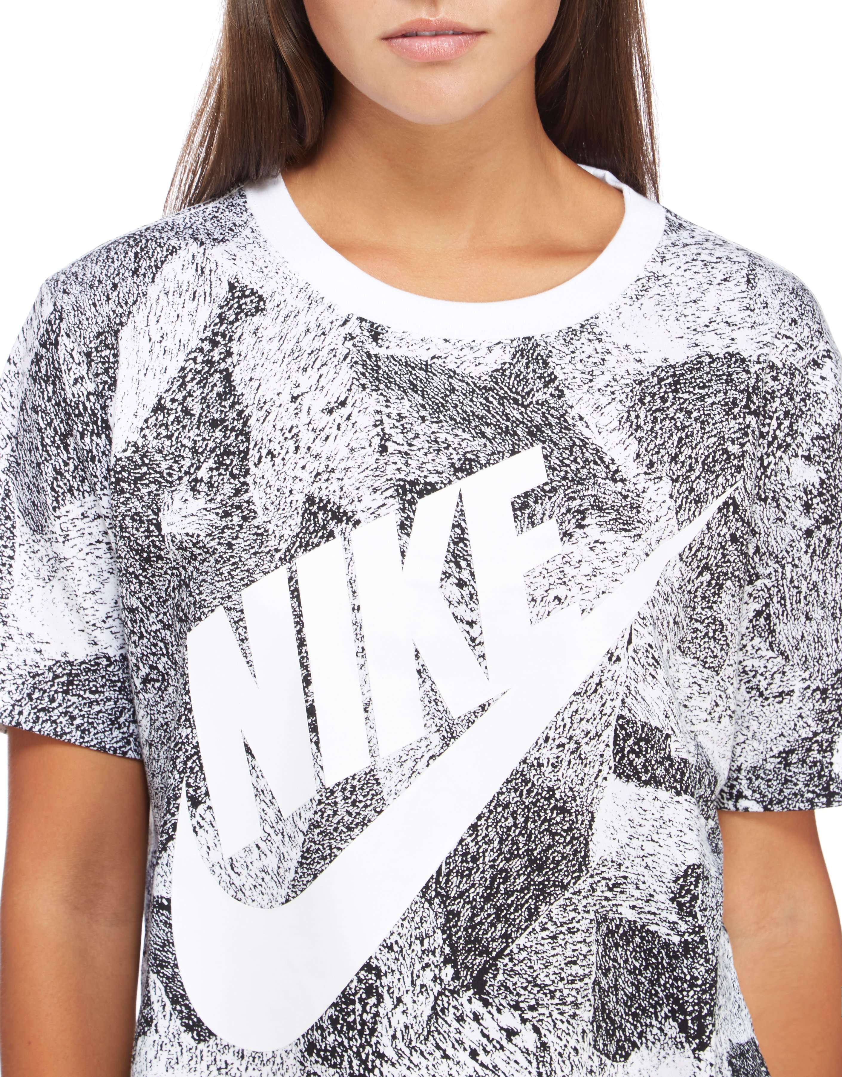 Nike Print Crop T-Shirt