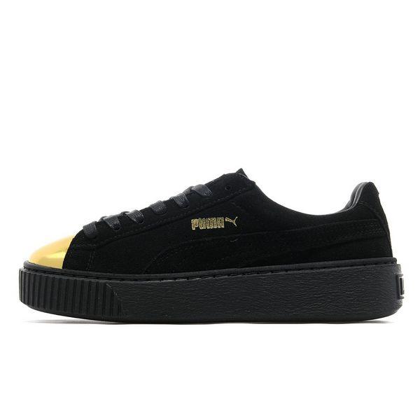 Puma Suede Platform Black
