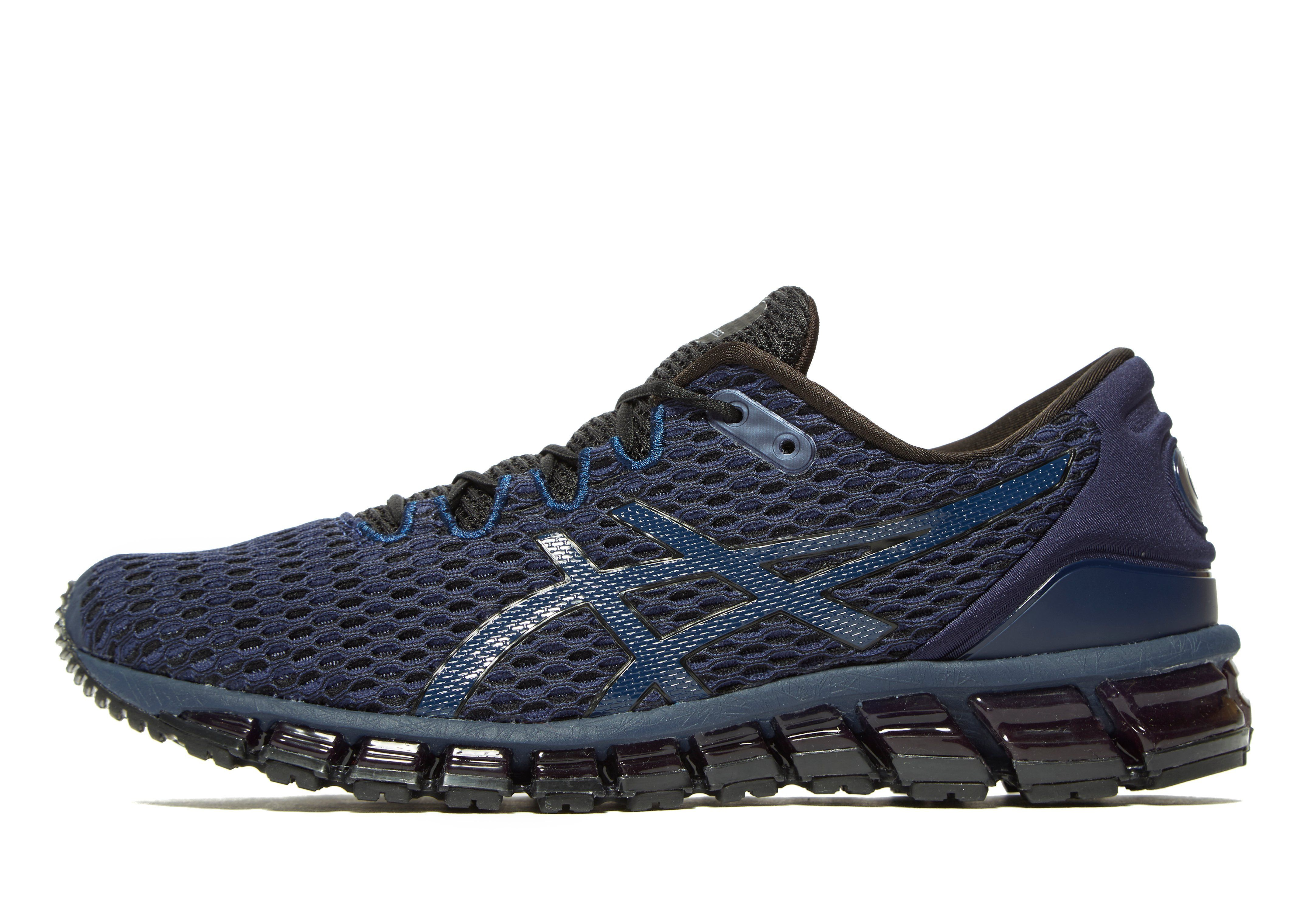 mens asics sneakers black