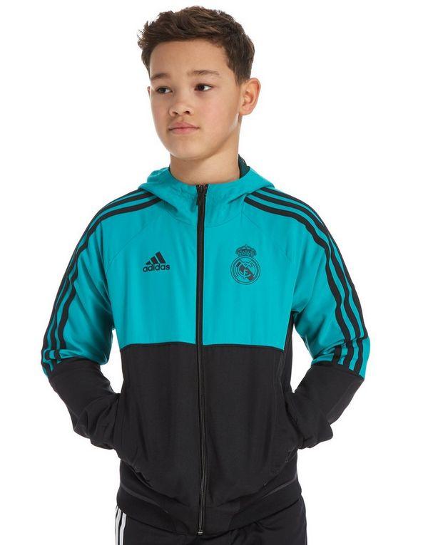 adidas Real Madrid Presentation Jacket Junior  75ed7a1aa0