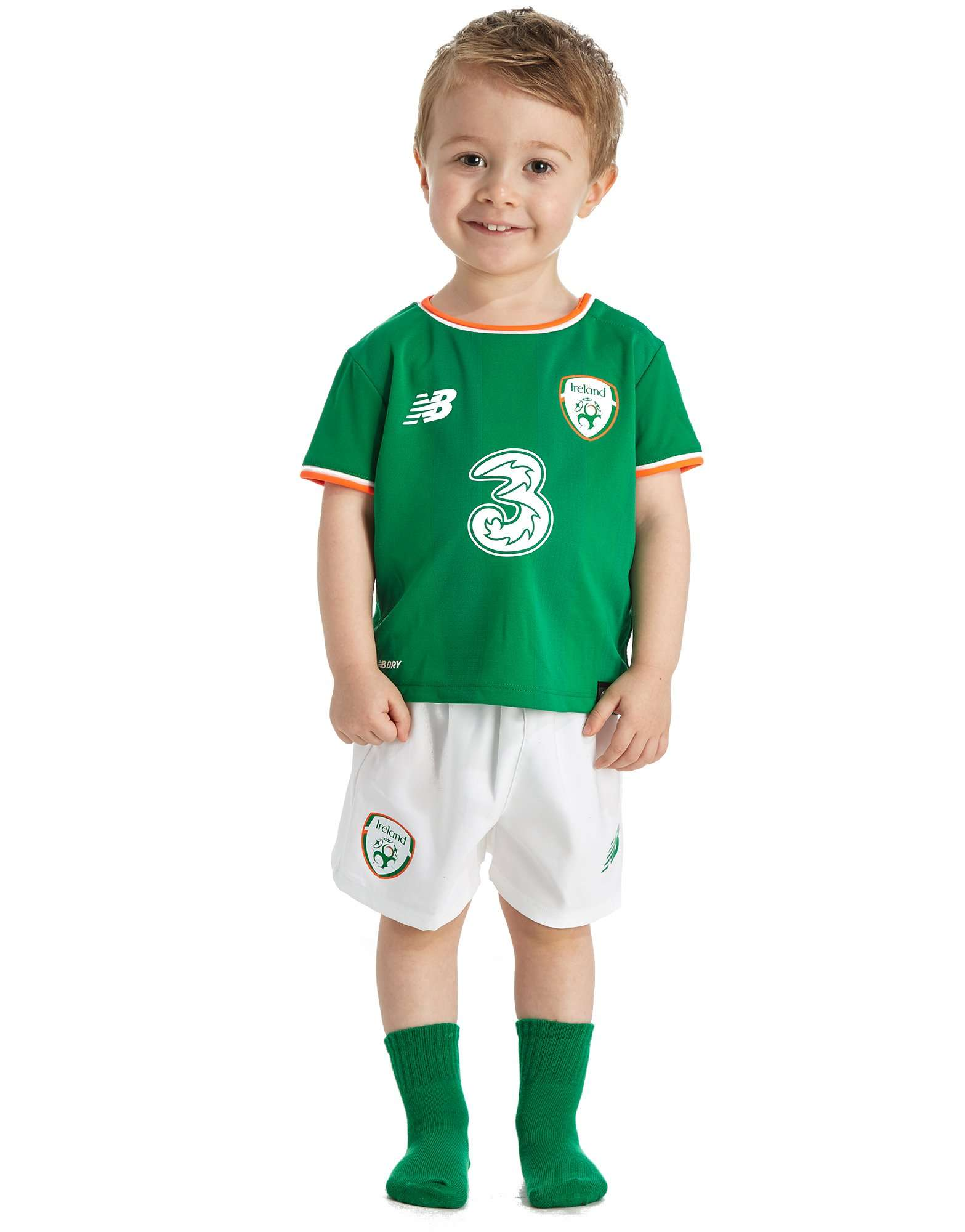 New Balance Republic of Ireland 2017/18 Home Kit Infant PRE OR
