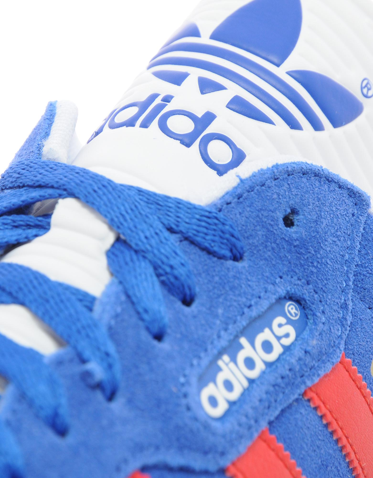 buy adidas samba red blue c0abd 7e9b6