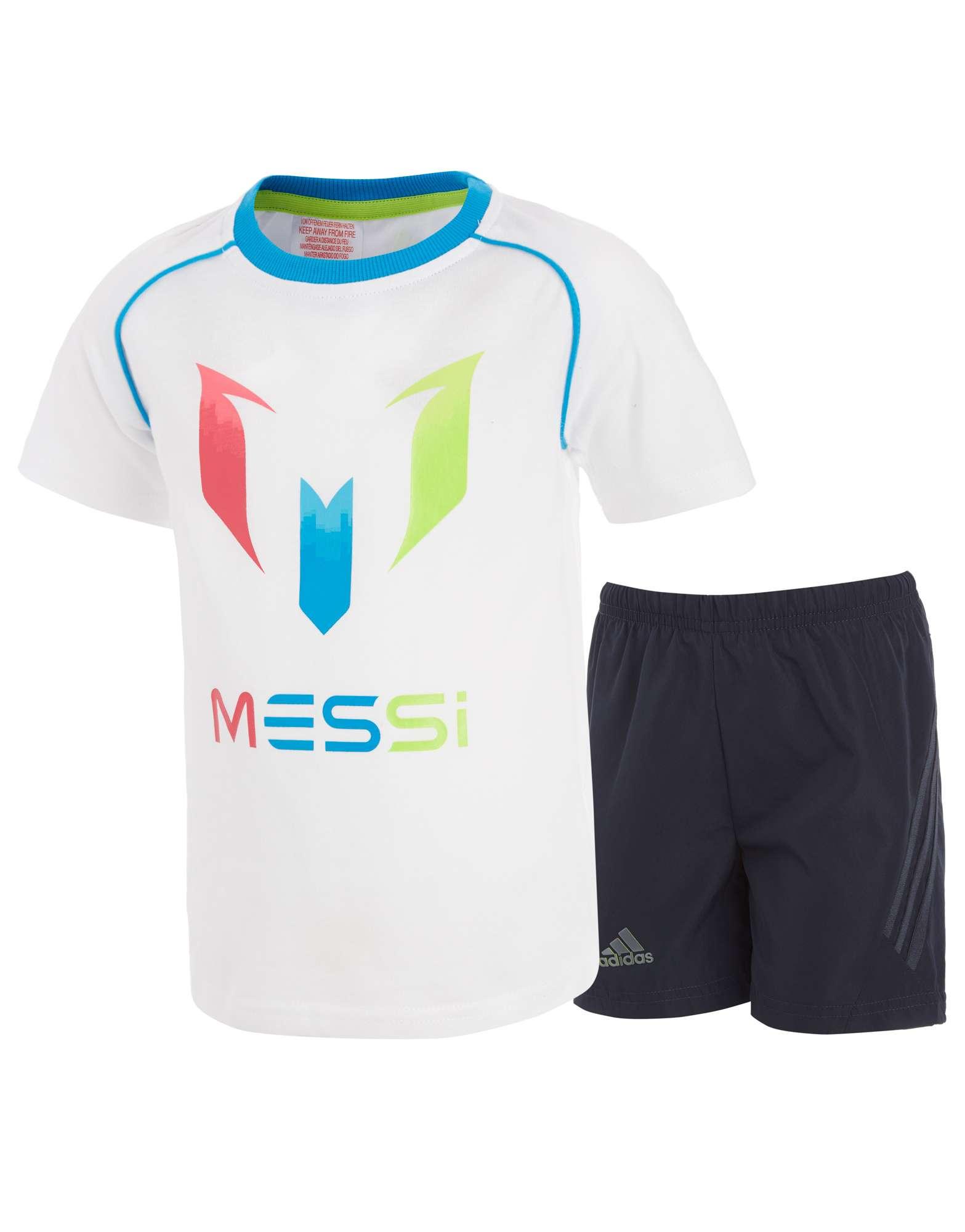 adidas Messi T-Shirt/Shorts Set Infants