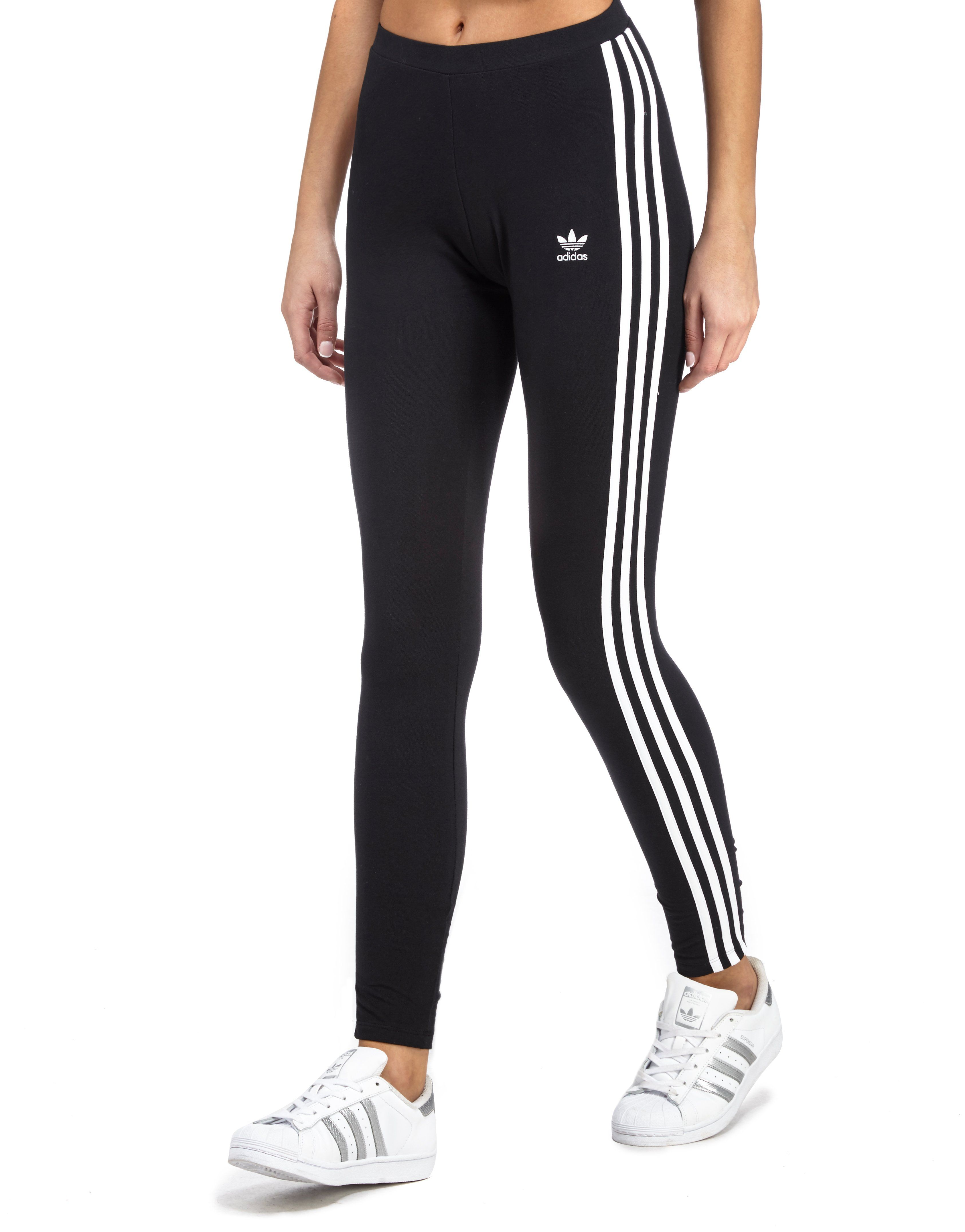 adidas originals 3 stripes leggings jd sports. Black Bedroom Furniture Sets. Home Design Ideas